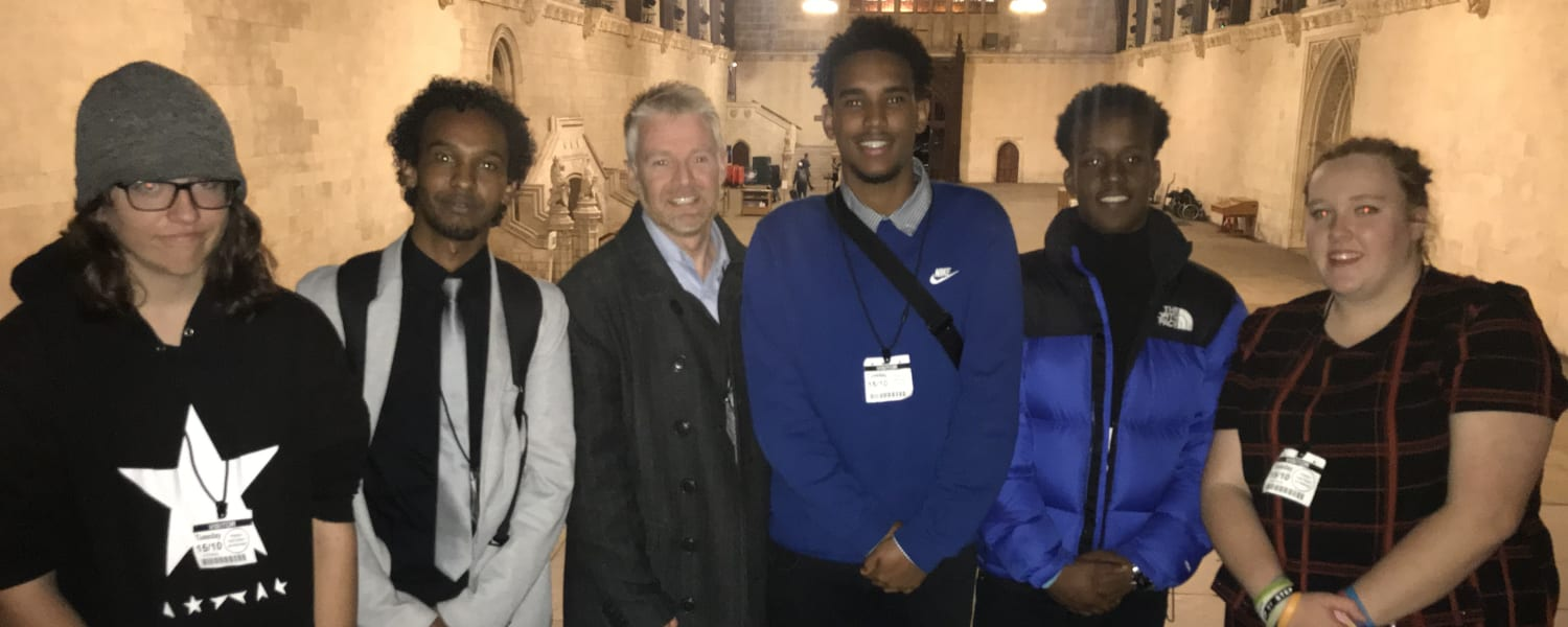 Why engagement in democracy is crucial. Young people go to Parliament joining the APPG on Youth Affairs