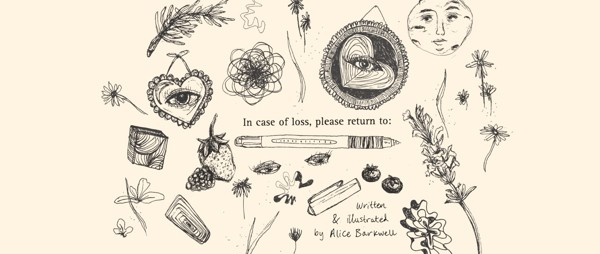 In case of loss, please return to: | by Alice Barkwell